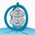 Snowflake Christmas Ornament image
