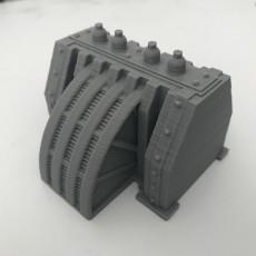 Warhammer 30K / 40K compatible Terrain - Kombination of Energy bridge and turbine