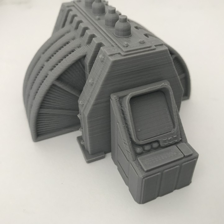 Warhammer 30K / 40K compatible Terrain - Operating console / Conrol Panel