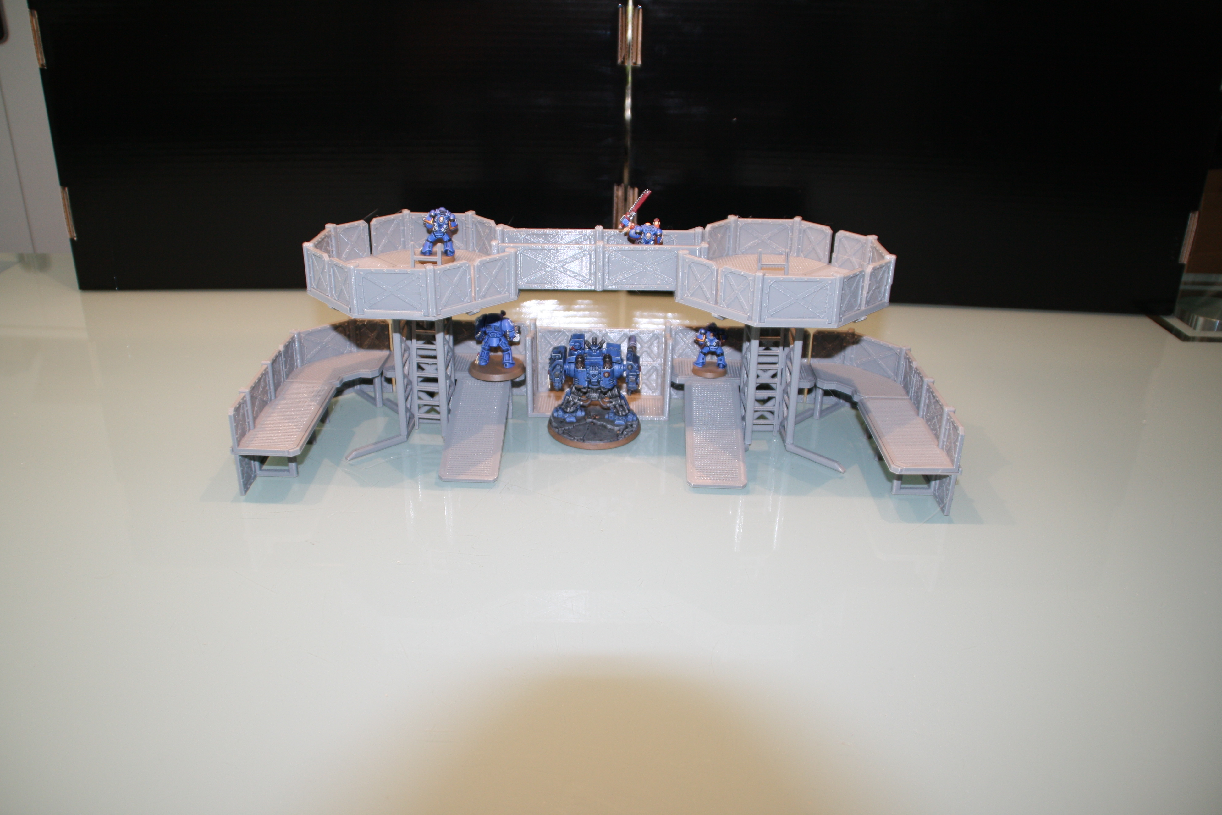 Warhammer 30K / 40K compatible Terrain - Outpost - Basic-Version