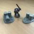 Warhammer 30K / 40K compatible Terrain - Barrels on Base image