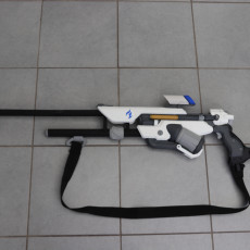 Picture of print of Ana's Biotic Rifle from Overwatch