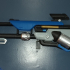 Ana's Biotic Rifle from Overwatch print image