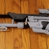 Ana's Biotic Rifle from Overwatch print image