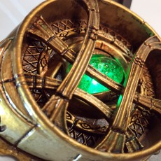 Picture of print of Eye of Agamotto - Doctor Strange (with Opening Eye)