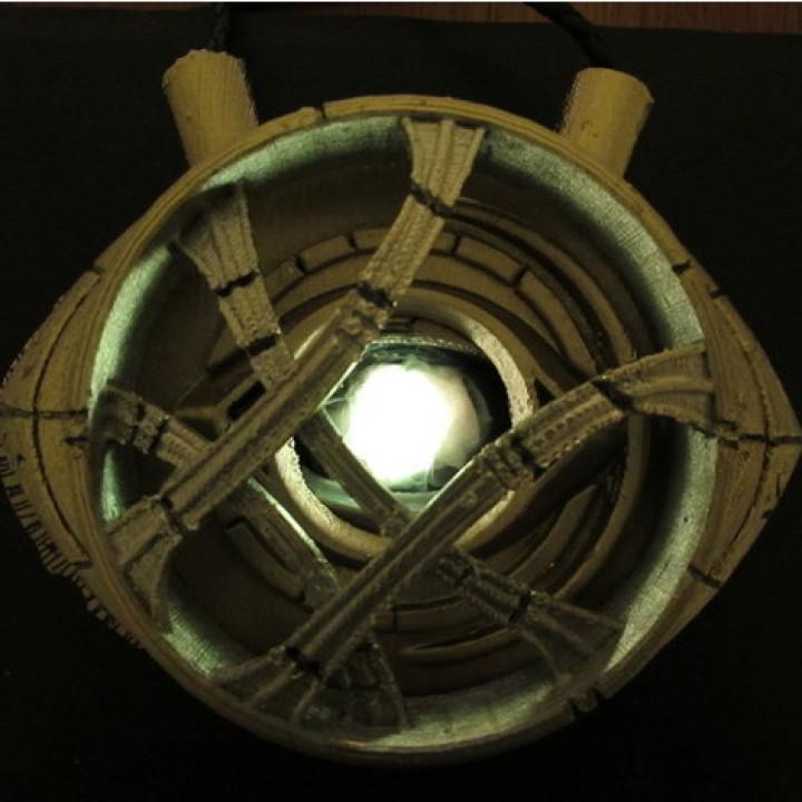 Eye of Agamotto - Doctor Strange (with Opening Eye)