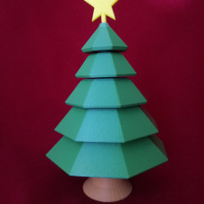 Picture of print of Spinning Christmas Tree