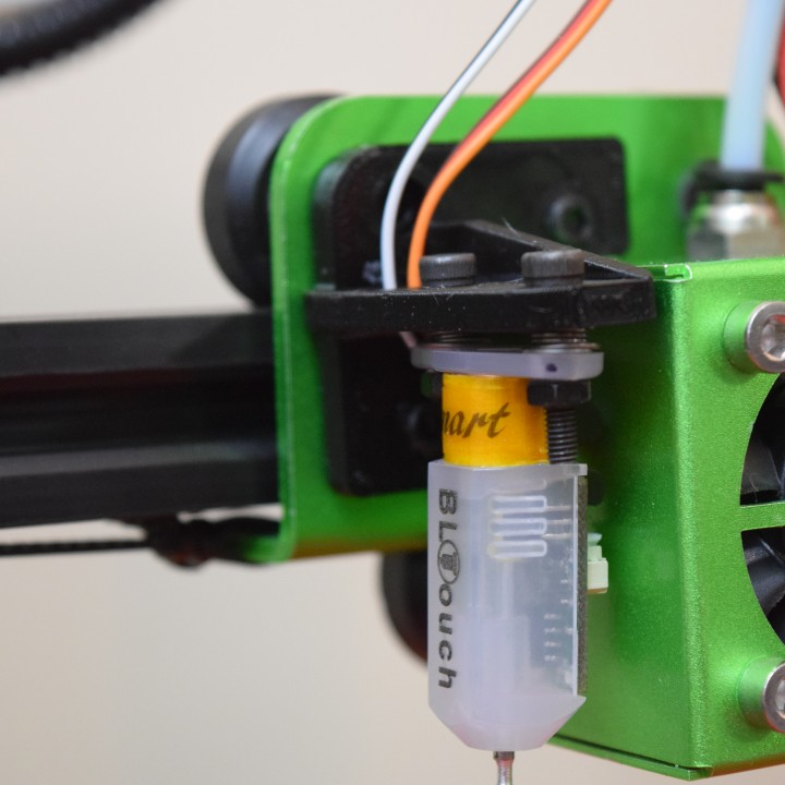 3D Printable Tevo Tornado BLTouch mount by Robert Byers