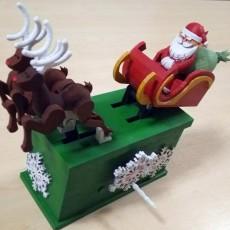 Santa Claus Reindeer Automata