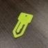 key notes paper clip image