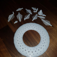 Picture of print of Tinkercad Christmas - Christmas Wreath