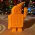 Santa's Little Helper Robot [Tinkercad Christmas] image
