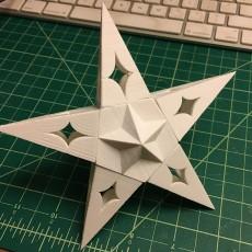 Solstice Star Tree Topper
