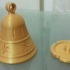 Christmas bell ornament (with hidden compartment) image