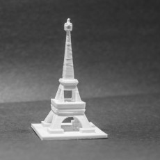 Picture of print of Simple Eiffel Tower
