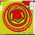 Functional atari game controller ornament image