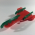 TinkerCAD Christmas (3D Printable Modern Jet Powered Santa Sled) image