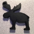 Moose Keychain image