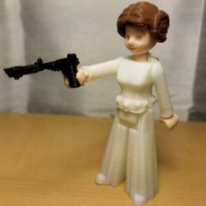 Picture of print of Princess Leia