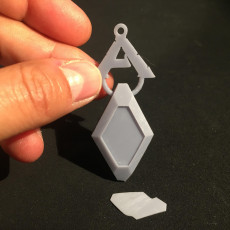 Picture of print of Ark Survival Implant Key Chain