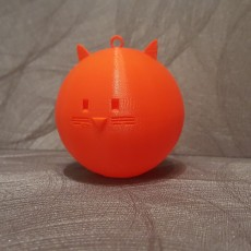 Christmas Bauble Cat