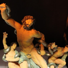 Picture of print of Laocoon and His Sons