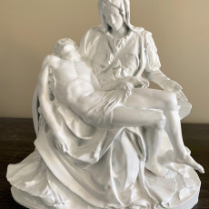 Picture of print of La Pietà