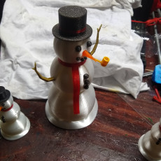 Picture of print of Large Scale Multi Piece Snowman