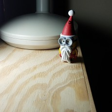 Picture of print of Minion Santa