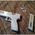 Model Handgun - Fully functional toy with magazine and bullets! image