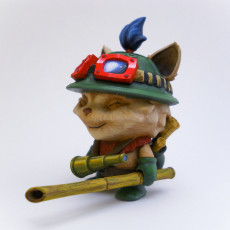 Picture of print of Teemo classic