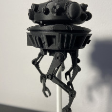 Picture of print of Probe Droid