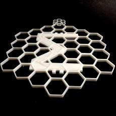 SmartCash honeycomb christmas ornament