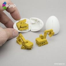 Surprise Egg #4 - Tiny Excavator