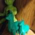Tika Alpaca (moving legs!) print image