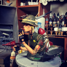 Picture of print of Tank Girl