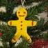 Bicolor Gingerbread Man (2 parts) image
