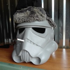 Picture of print of Stormtrooper ANH modernised.