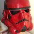 Stormtrooper ANH modernised. print image