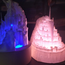 Picture of print of Frozen Castle