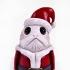 Santa Porg  - Star Wars print image
