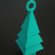 Simple Christmas Tree Ornament