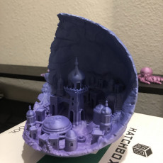 Picture of print of Moon City 2.0 This print has been uploaded by Jonathan Hayman