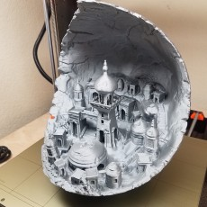 Picture of print of Moon City 2.0 This print has been uploaded by Dracx