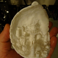 Picture of print of Moon City 2.0 This print has been uploaded by Milos Kubrt
