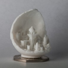 Picture of print of Moon City 2.0 This print has been uploaded by Steven