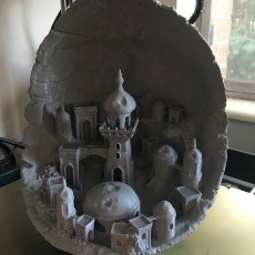 Picture of print of Moon City 2.0