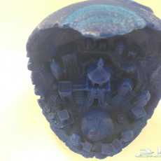 Picture of print of Moon City 2.0 This print has been uploaded by How To Do