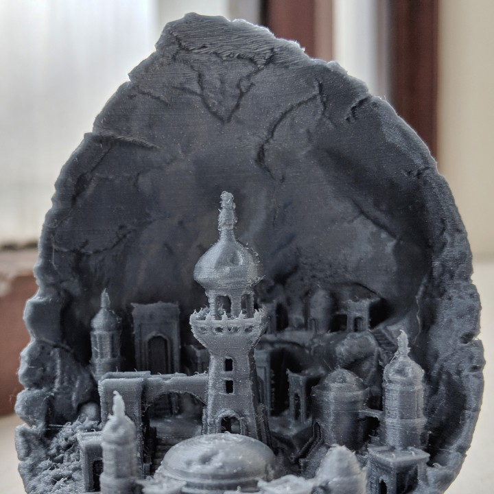 Picture of print of Moon City 2.0 This print has been uploaded by Annony Mouse
