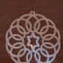 Spirograph Gyroscopic Christmas Ornament image